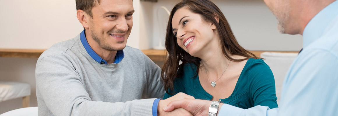 Couple Financing Their Home